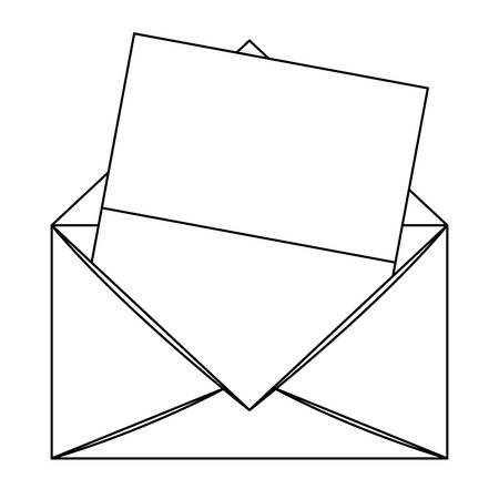 Envelope mail  illustration