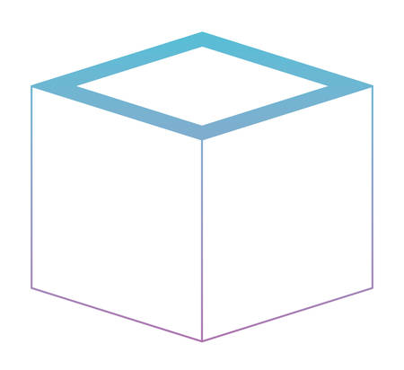 Cubic matrix geometric icon vector illustration design 스톡 콘텐츠 - 96829205