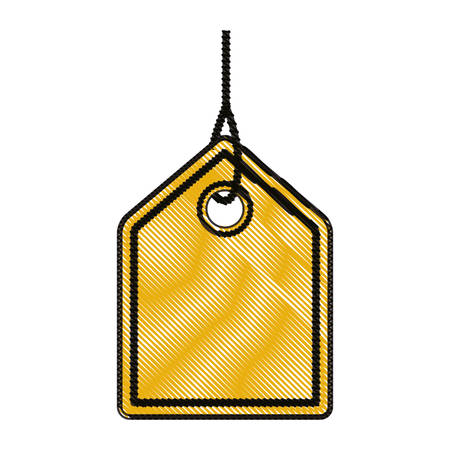 commercial hangtag hanging icon vector illustration design Illustration