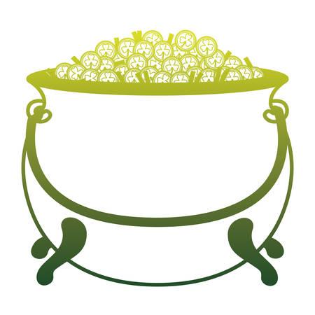 Treasure pot Ilustração