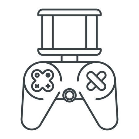video game control technology vector illustration design Foto de archivo - 101850440