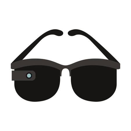 reality virtual glasses icon vector illustration design