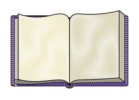 book open isolated icon vector illustration design