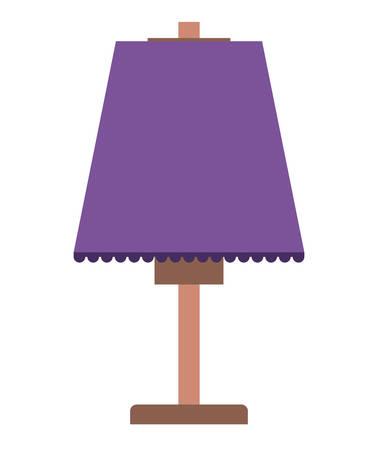 lampe de maison icône isolé illustration vectorielle conception