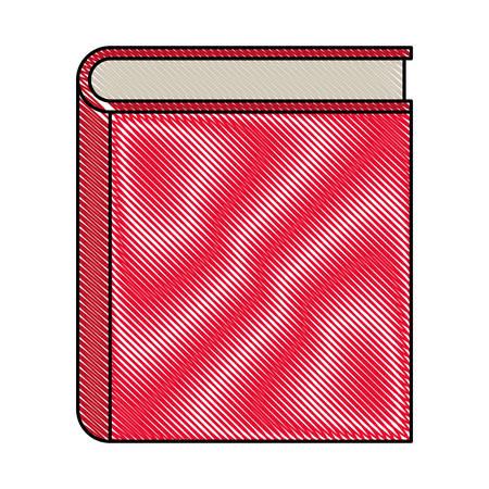 text book school icon vector illustration design Illustration
