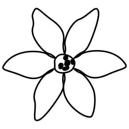 beautiful flower garden icon vector illustration design Vettoriali