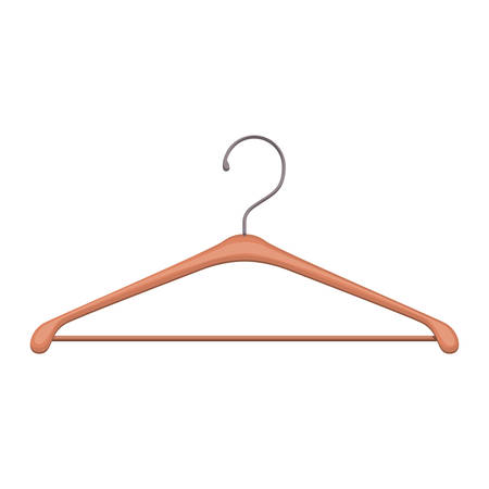 wire hook clothes icon vector illustration design Vettoriali