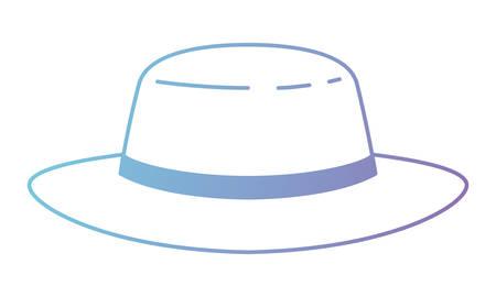 masculine elegant hat icon vector illustration design