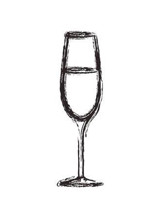 cup with beverage icon vector illustration design 版權商用圖片 - 111796655