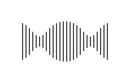 vertical dna chain science monochrome vector illustration design
