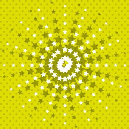 pointed stars background wallpaper decoration effect icon. Colorful design. Vector illustration Ilustração
