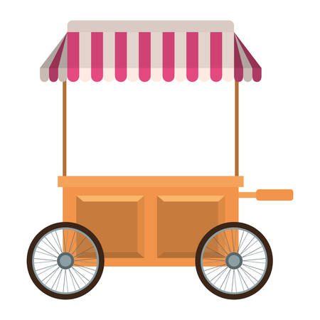 store kiosk isolated icon vector illustration design