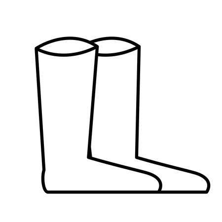 nice boots isalated icon vector illustration desing