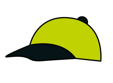 cute cap isolated icon vector illustration desing