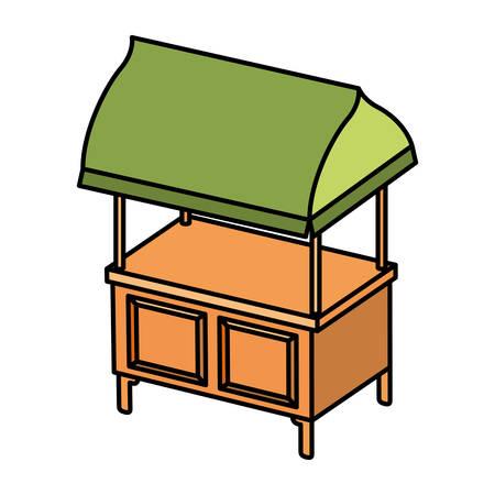 store kiosk isolated icon vector illustration desing Vektorgrafik