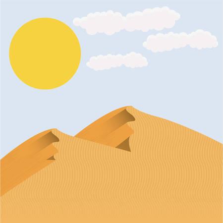desert sunset manger scene background vector illustration design