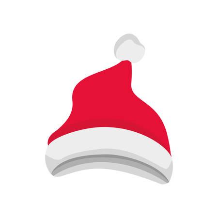 santa's hat isolated icon vector illustration deisgn