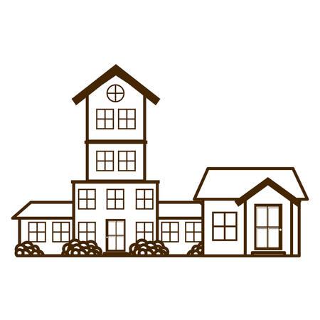 neighborhood isolated icon vector illustration design 矢量图像