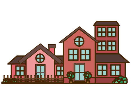neighborhood isolated icon vector illustration design 向量圖像