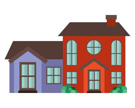 neighborhood isolated icon vector illustration design