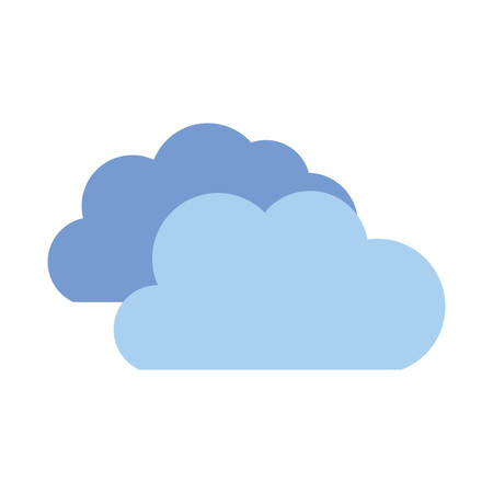 cloud shape isolated icon vector illustration design