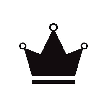 beautiful crown isolated icon vector illustration desing