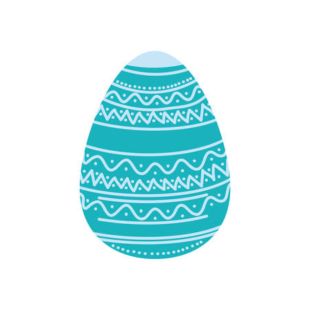 easter egg isolated icon vector illustration desing 向量圖像