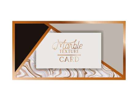 marble texture card label isolated icon vector illustration desing