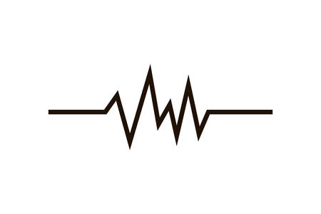 sound wave isolated icon vector illustration design