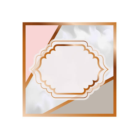 card with marble texture icon vector illustration design Illustration