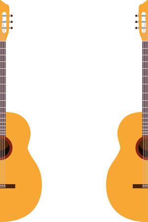 violin musical instrument pattern vector illustration design
