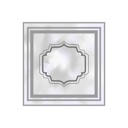 elegant frame victorian isolated icon vector illustration desing Zdjęcie Seryjne - 122963160