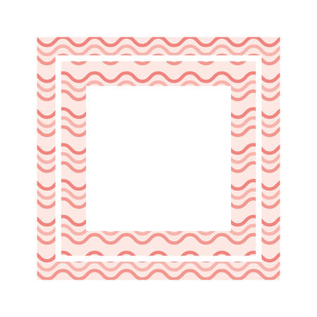textile pattern frame isolated icon vector illustration design Zdjęcie Seryjne - 122963484