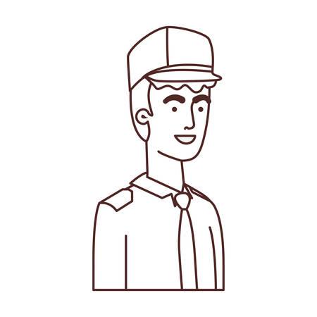 man soldier of war avatar character vector illustration design Foto de archivo - 122468440