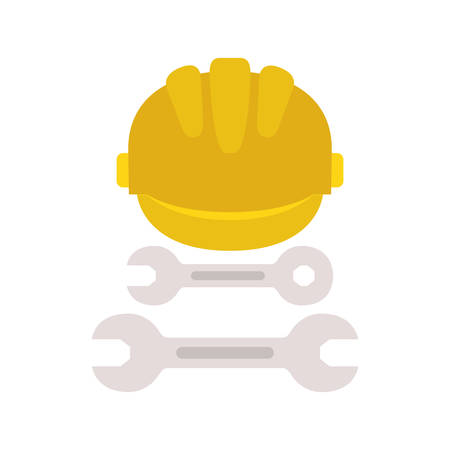 construction tools isolated icon vector illustration design