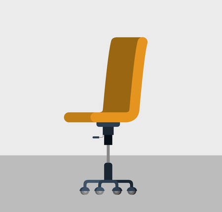 office chair in the office vector illustration design Ilustrace