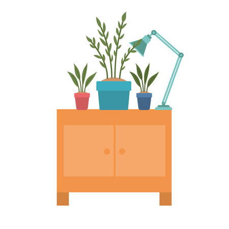 wooden shelving in white background icon vector illustration design Vectores