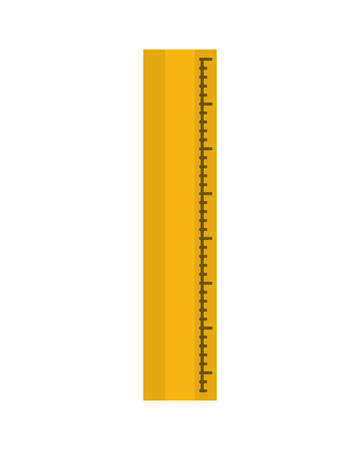 ruler tool isolated icon vector illustration design