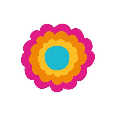 colorful flower icon vector illustration design Vettoriali