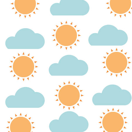 pattern radiant sun isolated icon vector illustration design