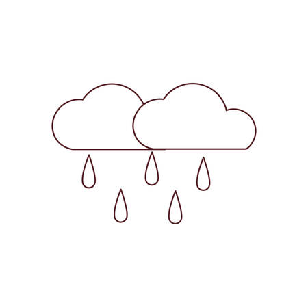 beautiful cloud isolated icon vector illustration design