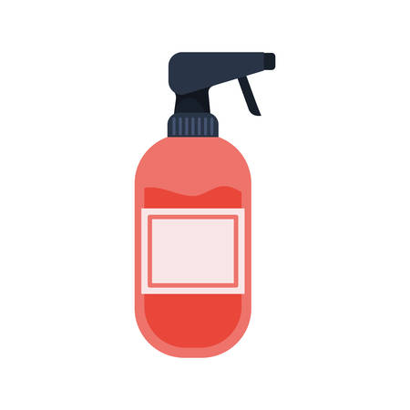 dispenser bottle on white background vector illustration design Ilustracja