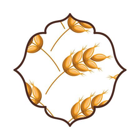 elegant frame isolated icon vector illustration design