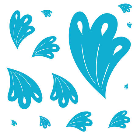pattern colorful flowers isolated icon vector illustration design