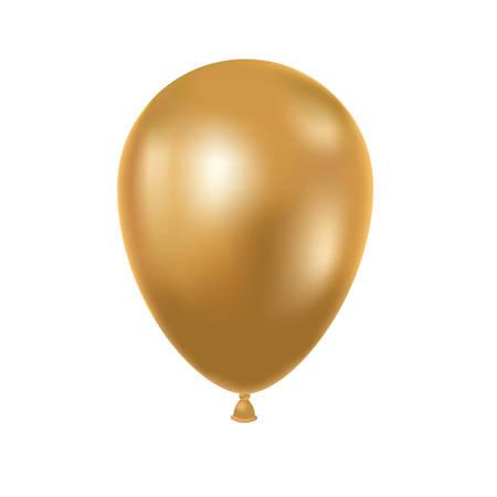 helium balloon on white background vector illustration design 일러스트