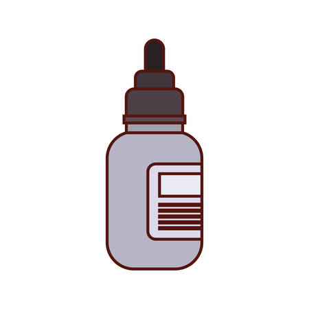 bottle drugs medicine isolated icon vector illustration design Stock fotó - 129795134
