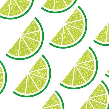pattern of slice of lemon isolated icon vector illustration desing Standard-Bild - 129858492