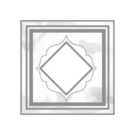 elegant frame victorian isolated icon vector illustration desing 版權商用圖片 - 129859522