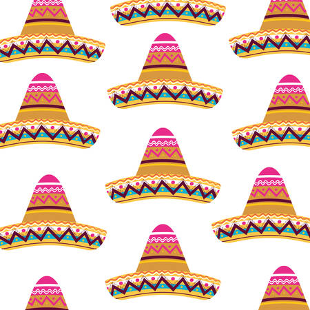 mexican hat isolated icon vector illustration design