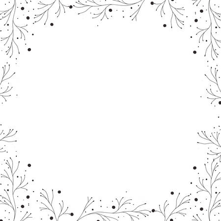 beautiful flowers with leafs isolated icon vector illustration desing